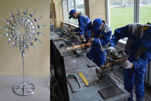 metalo apdirbimo namų darbas