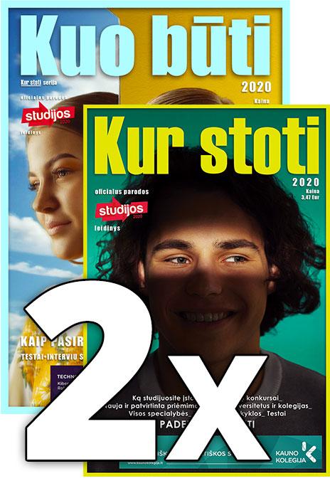 2 žurnalų komplektas