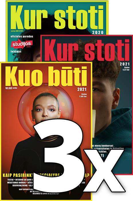3 žurnalų komplektas