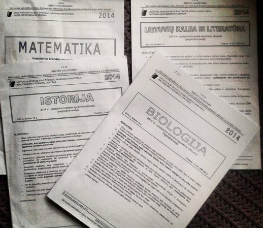Biologijos egzamino programa